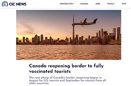 最新入境加拿大政策公佈:酒店隔離終結!美加邊境8月重開!9月迎接全球遊客!