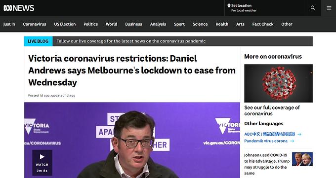 澳洲維州正式全面解封,留學生可回澳