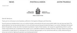 公開信!加拿大總理特魯給聯邦移民部的七項指令!這幾類移民被優先重視!