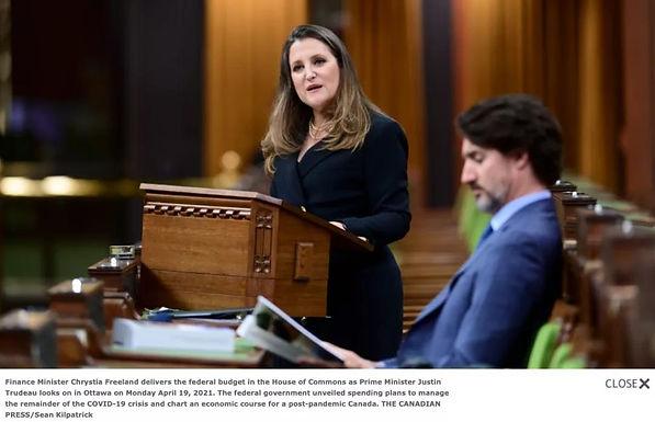 加拿大2021-22年度預算案公布,10大亮點出爐!