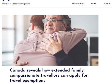 加拿大官宣親屬入境豁免新規,留學生家長也能入境