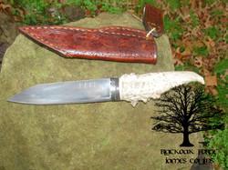 Dragon Seax by James Collins Blackoak Forge