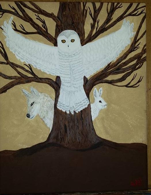 Animal Totem Painting