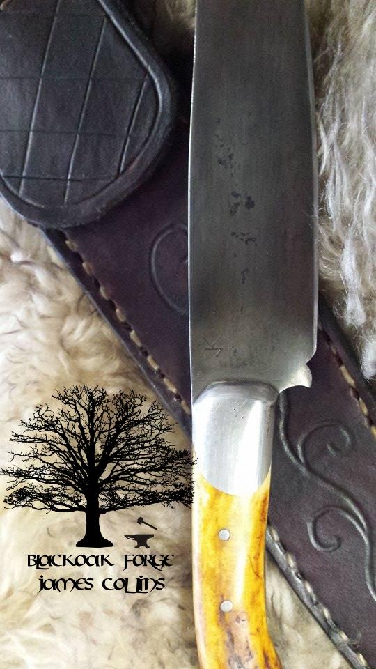 Frontier Knife - James Collins Blackoak Forge