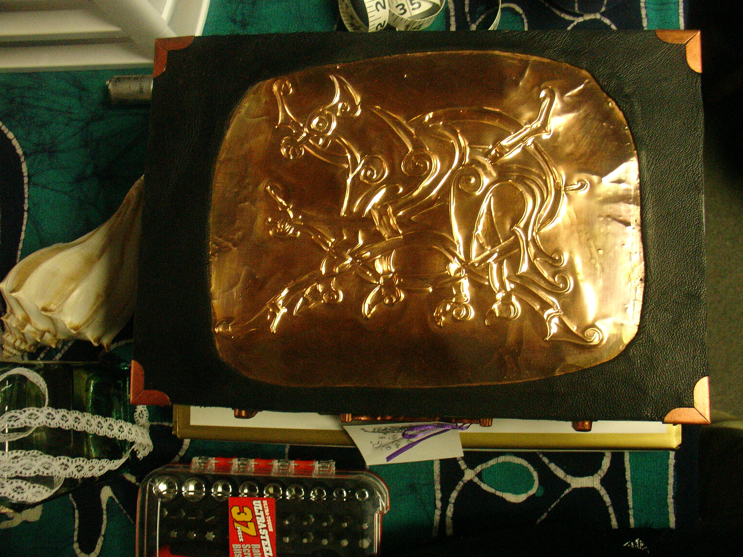 Hand-hammered Fenrir Box