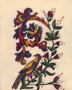 Love (from custom tarot deck)