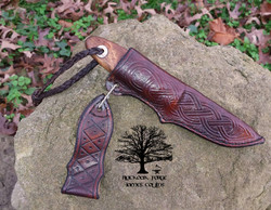 Puukko - Hand Forged Knife by James Collins Blackoak Forge