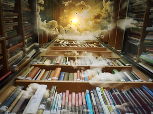 Akashic Records readings - photo of library