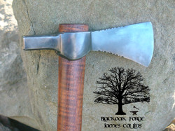 Hammer Poll Tomahawk by James Collins Blackoak Forge
