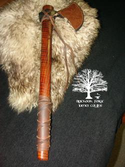 Viking Axe by James Collins Blackoak Forge