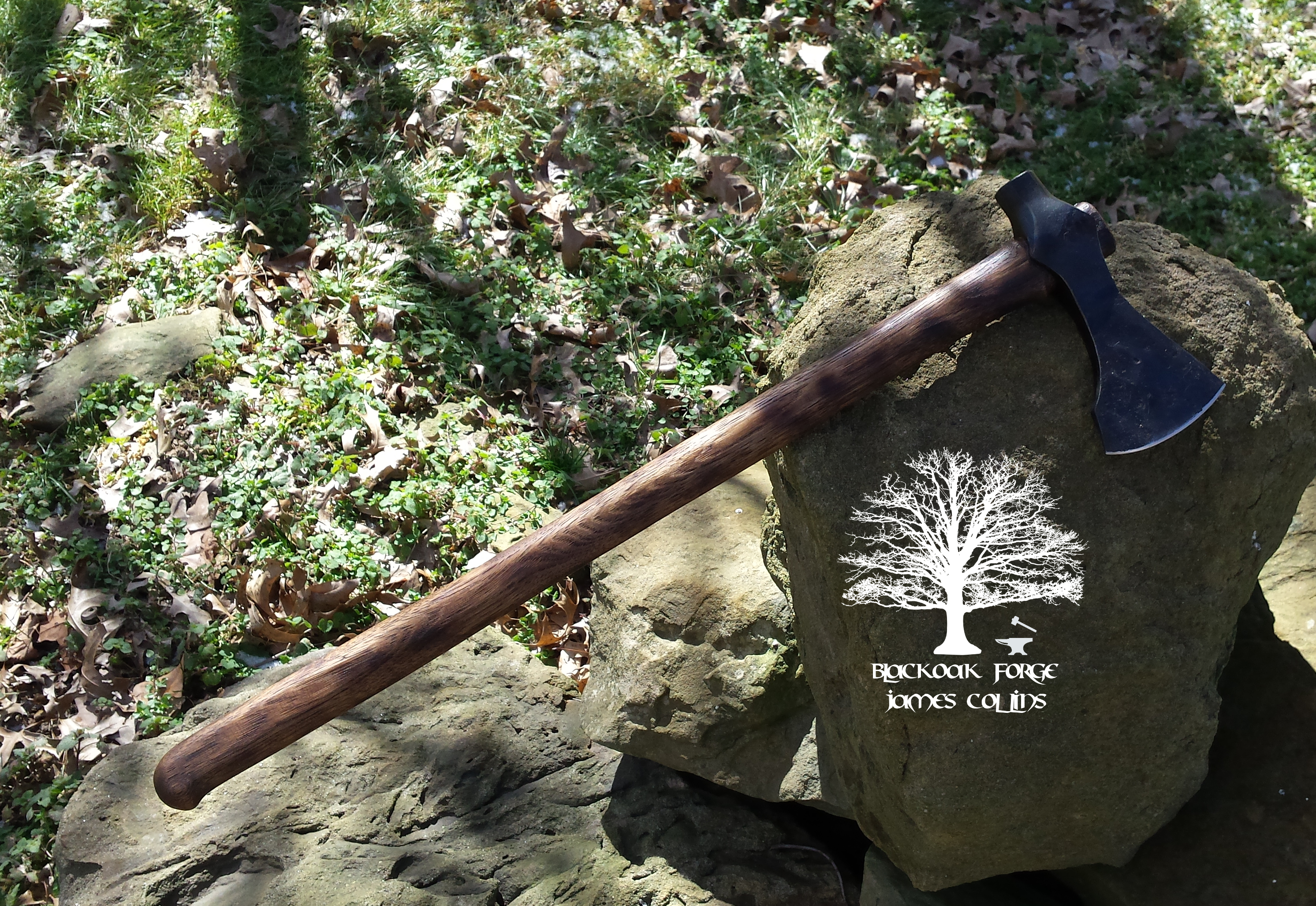 Viking Hammer Poll Axe by James Collins Blackoak Forge