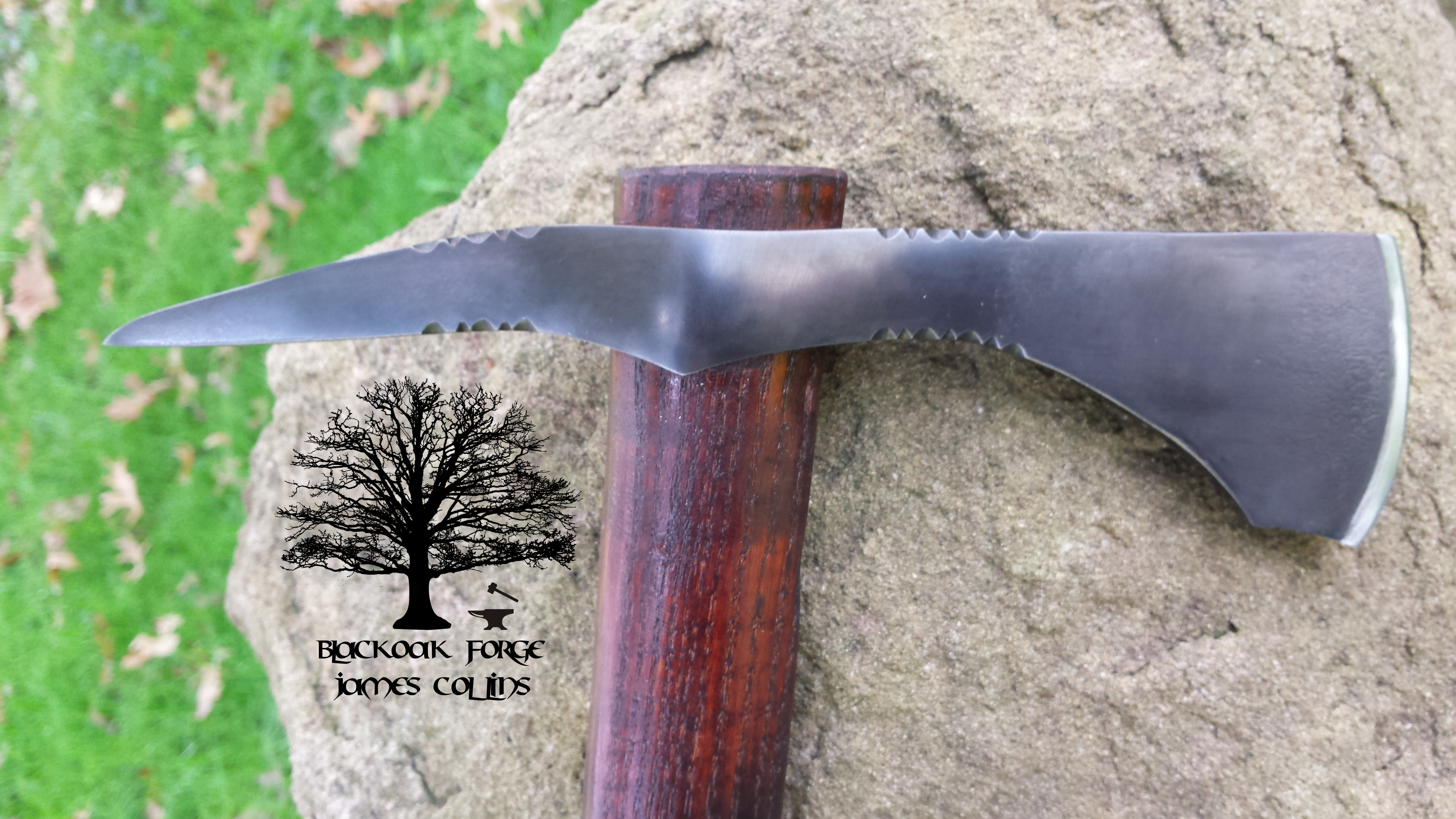 Spike Tomahawk by James Collins Blackoak Forge
