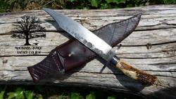 Bowie Knife by James Collins Blackoak Forge