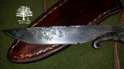 Neck Knife by James Collins Blackoak Forge (3)