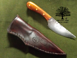 Hunting Carry Knife by James Collins Blackoak Forge