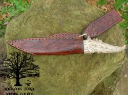 Dragon Seax by James Collins Blackoak FoDragon Seax by James Collins Blackoak Forge