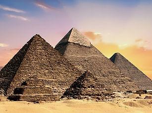 Past Life regressions - photo of pyramids