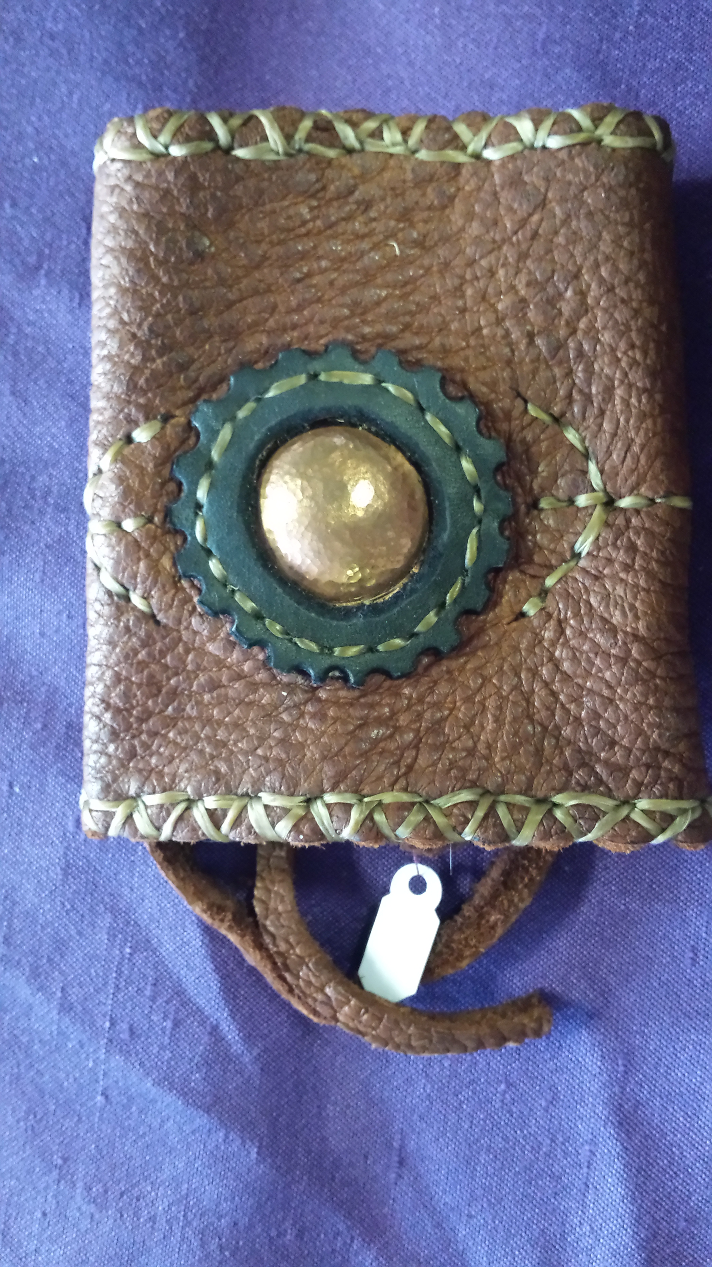 Leather Shield Cuff