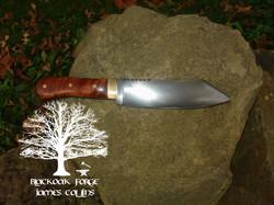 Camp Knife by James Collins Blackoak Forge