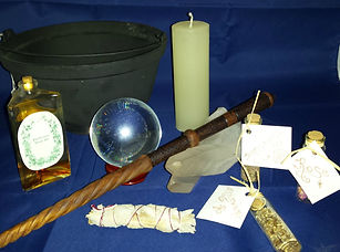 Pagen Studes - picture of miscellanius magickal items