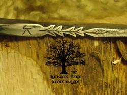 Flint Striker Knife by James Collins Blackoak Forge (2)