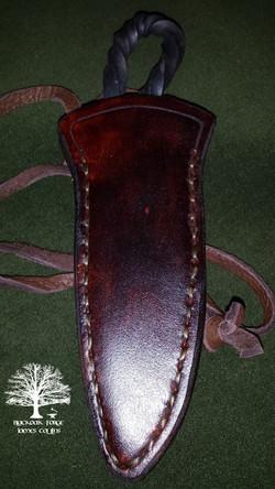 Neck Knife by James Collins Blackoak Forge (2)