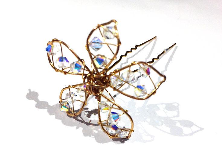 Mini Charlotte Flower Pin