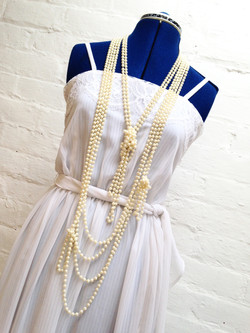 Pearl necklace for Madonna