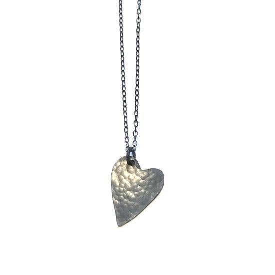 Black (Oxidised) Heart Pendant