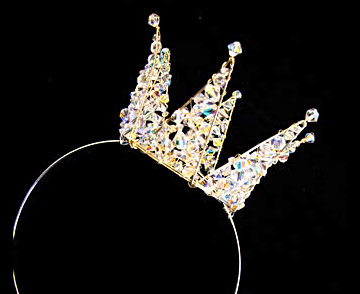 Kim Swarovski Mini Crown