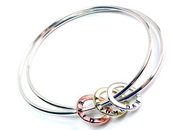 Personalised bangles