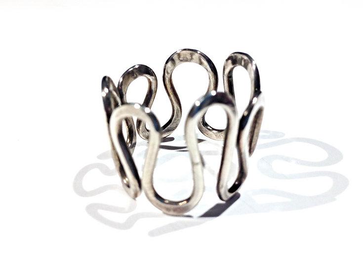 Silver Loops Ring