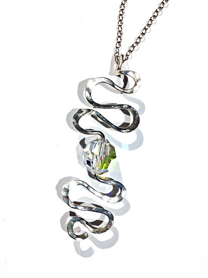 Swarovski Spiral Pendant