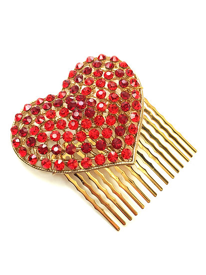 Red Heart Mini Comb