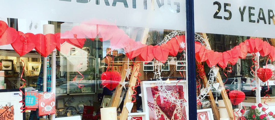 Valentines Day at Oriel Makers