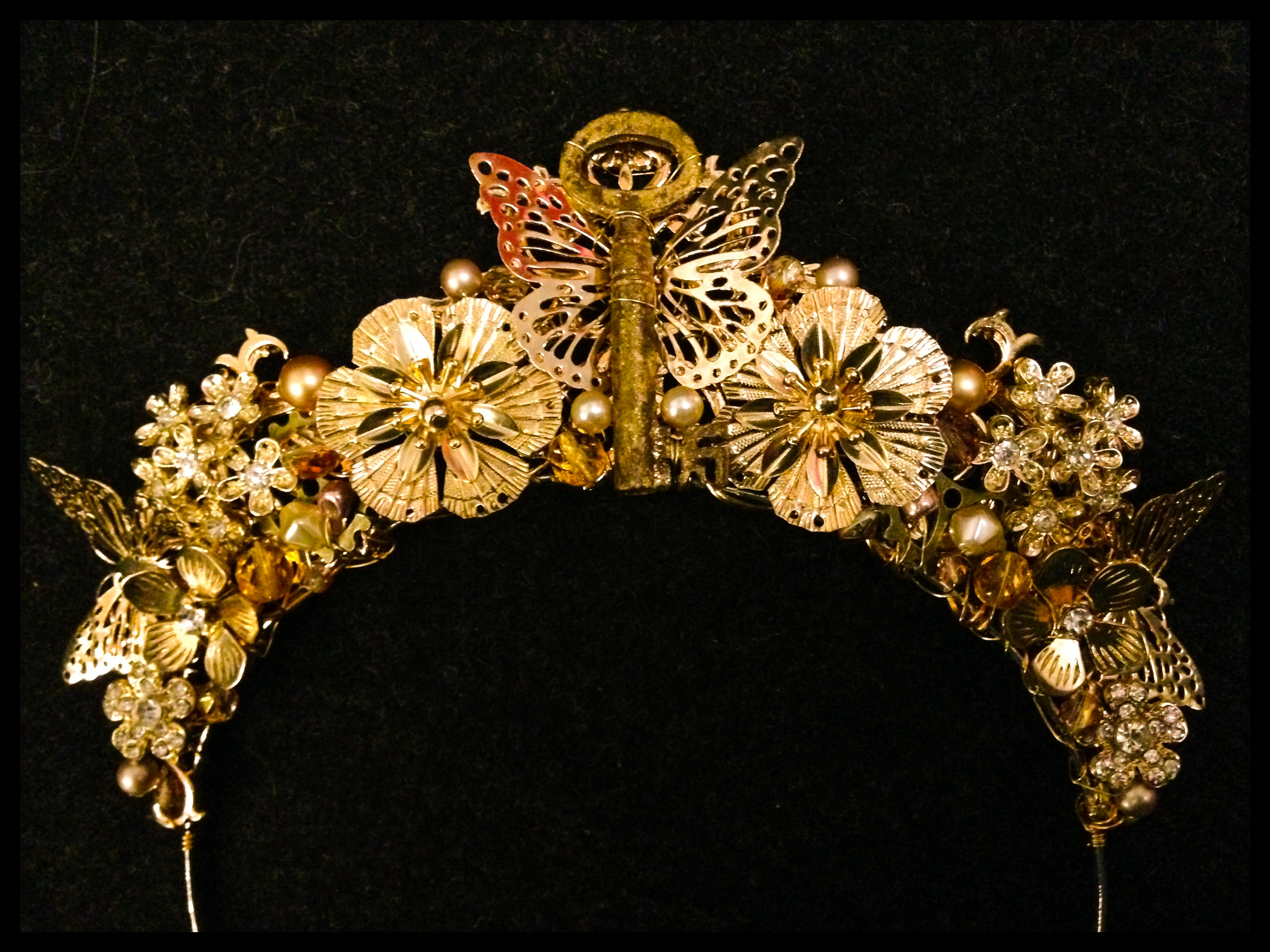 Golden tiara/ halo for film