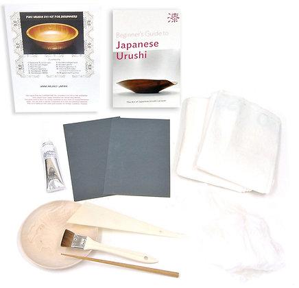 Fuki Urushi DIY KIt, Suri Urushi Lacquer Kit from Japan, A0344