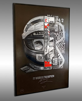 Alain Prost VS McLaren MP4/2