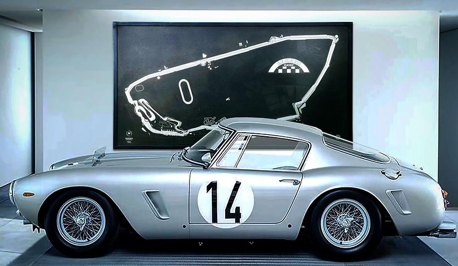 Gravure Le Mans Classic - Circuit Complet