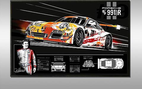 Gravure sur Mesure Porsche 997 R