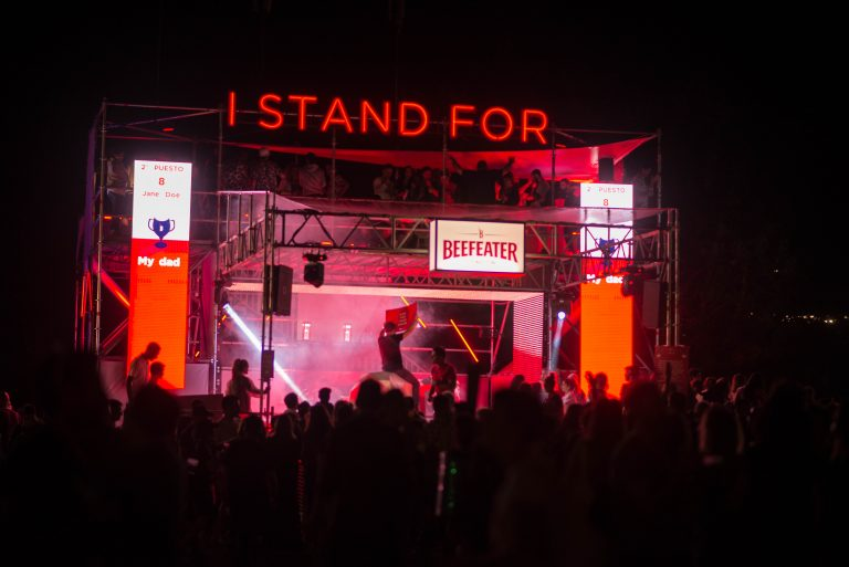 "Beefeater ""I stand for"""