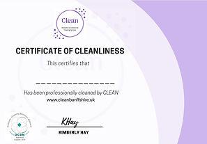cleanliness certificate .jpg