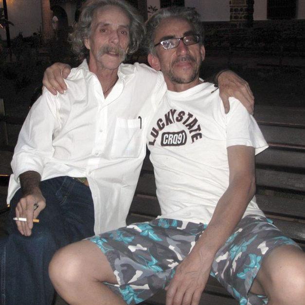Dos amigos, en Cartagena