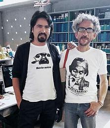 Jorge Barco y Antonio Caro