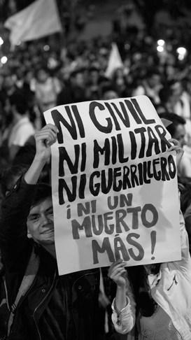 'Ni civil ni militar ni guerrillero'