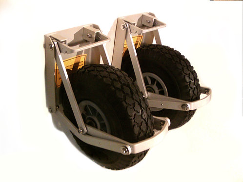 Inflatable boat Launching Wheels