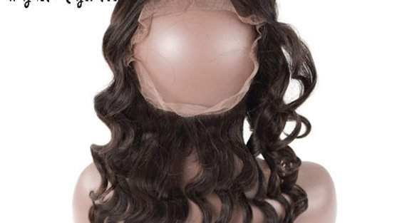 Lace frontale 360° Loose wave Remy Hair
