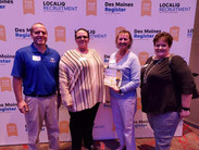 We Did it Again! Top Workplace in Iowa for 2nd year in a Row!
