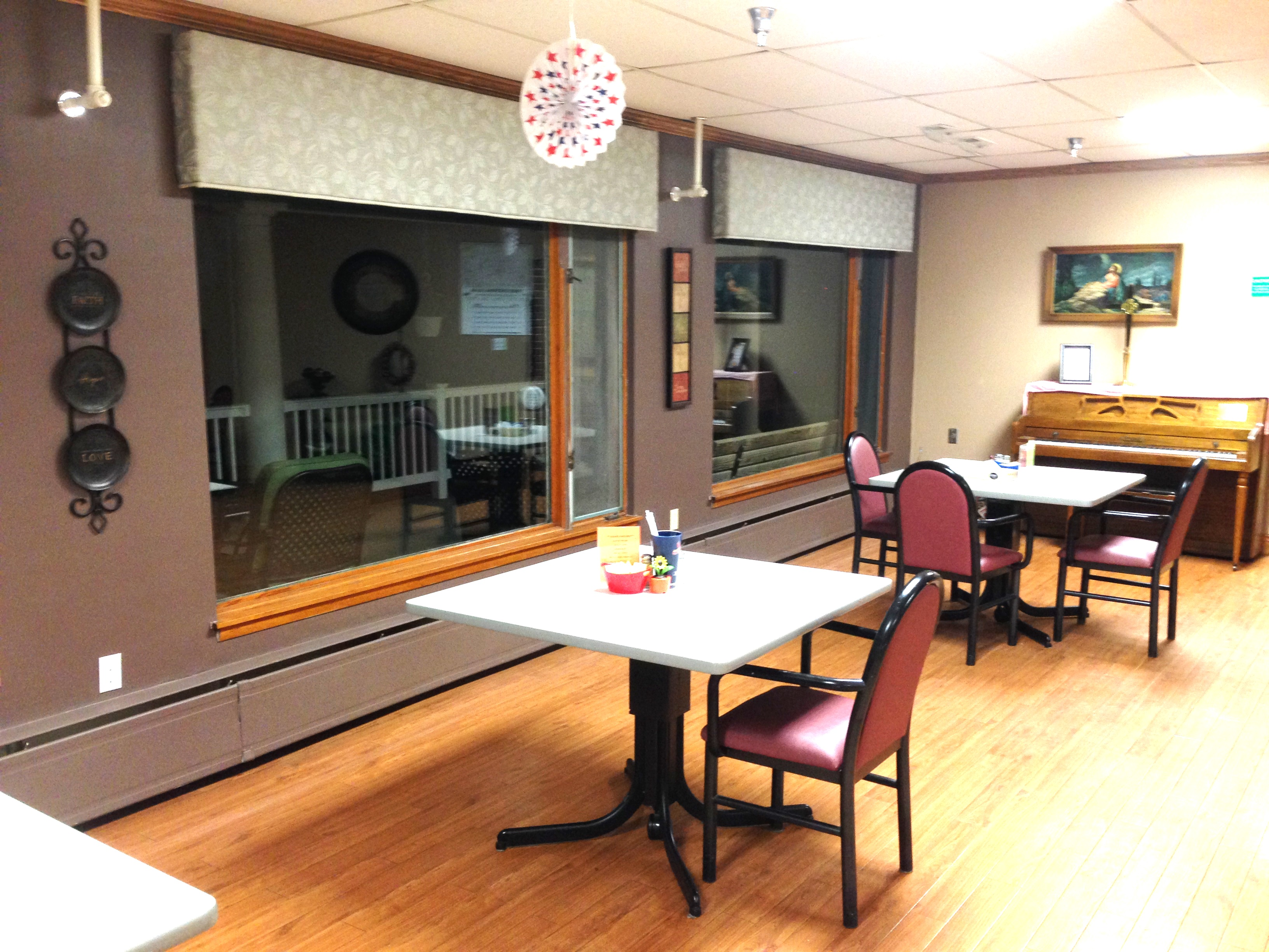 Dining Room and Health Meals