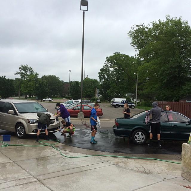 Sr Yth Car Wash